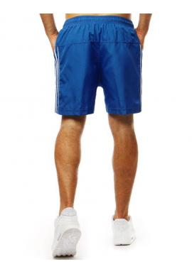 Pánske módne kraťasy na kúpanie v modrej farbe