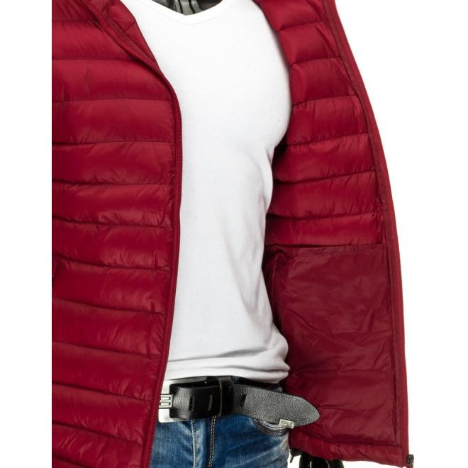 Tmavomodrá prechodná bunda Parka s odopínateľnou kapucňou