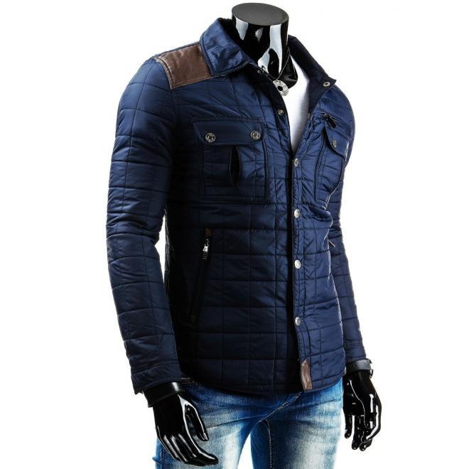 Ľahko oteplená prechodná bunda v béžovej farbe