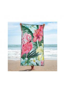 Plážový ručník s farebnou potlačou