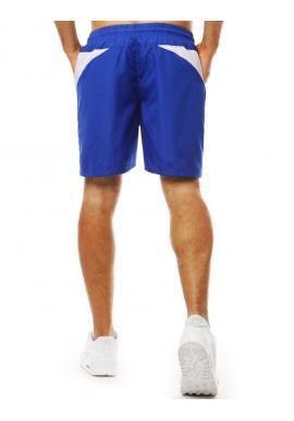 Modré módne kraťasy na kúpanie pre pánov