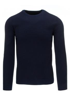 Bordový klasický sveter pre pánov