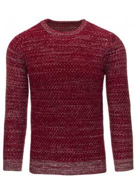 Sivý sveter v klasickom strihu pre pánov
