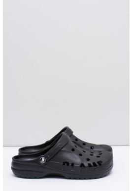 Čierne módne šľapky kroksy k bazénu pre pánov