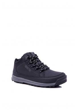 Pánska trekingová obuv Big Star v čiernej farbe