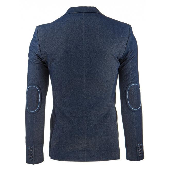 Sivé jednoradové sako pre pánov na každú príležitosť