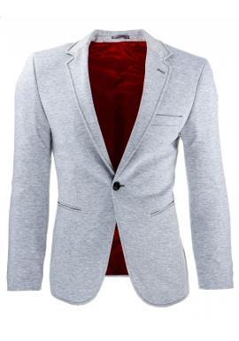 Elegantné sako pre pánov v tmavosivej farbe