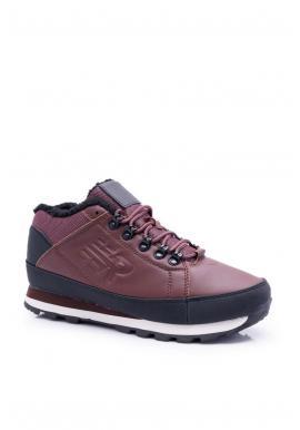 Hnedá trekingová obuv pre pánov