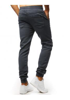 Sivé módne Joggery pre pánov