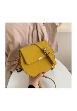 Dámske módne kabelky v žltej farbe