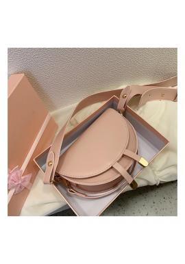 Dámska módna kabelka v ružovej farbe