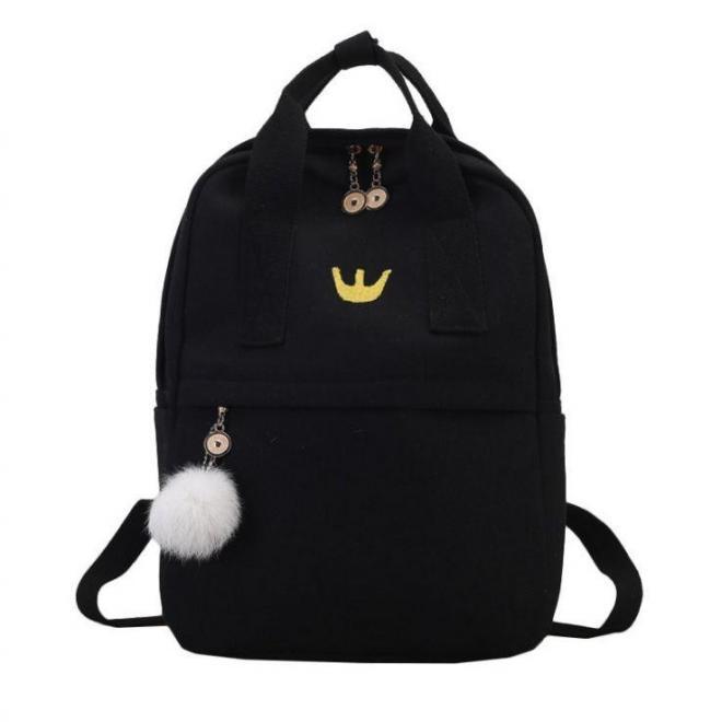 Športový ruksak červenej farby s rukoväťou