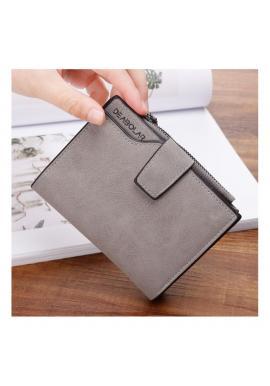 Dámska malá peňaženka v sivej farbe