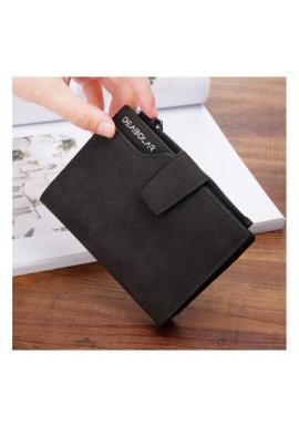 Čierna malá peňaženka pre dámy