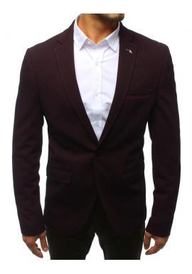 Neformálne pánske sako čiernej farby