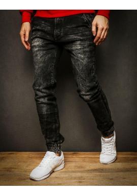 Čierne módne Joggery pre pánov