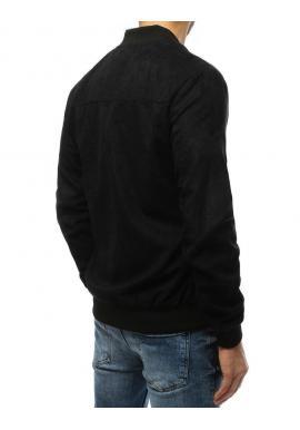 Jarné pánske Bomber bundy čiernej farby