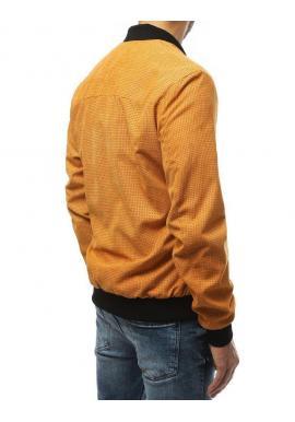 Žltá jarná Bomber bunda pre pánov