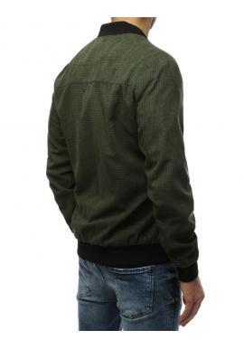 Jarná pánska Bomber bunda zelenej farby