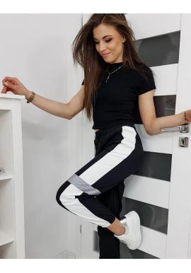Čierne športové nohavice pre dámy