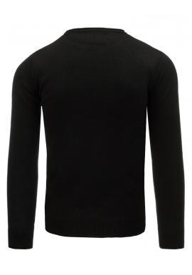 bc6f709c13b4c ... Čierno-sivý pánsky sveter s maskáčovým vzorom