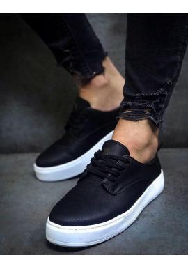 Pánske tenisky v čiernej farbe