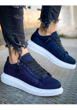 Modré štýlové Sneakersy pre pánov