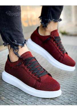 Štýlové pánske Sneakersy bordovej farby