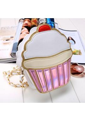 Módna farebná kabelka v tvare košíčka pre dámy