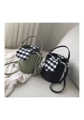 Čierna štýlová kabelka v podobe košíka pre dámy