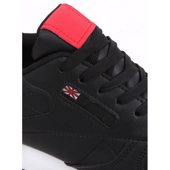 Dámske športové tenisky v čiernej farbe
