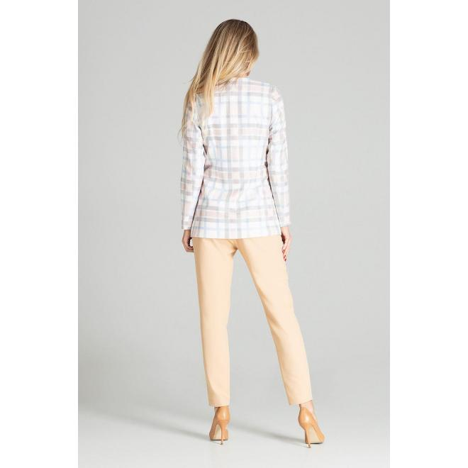 Farebné predĺžené sako so vzorom pre dámy