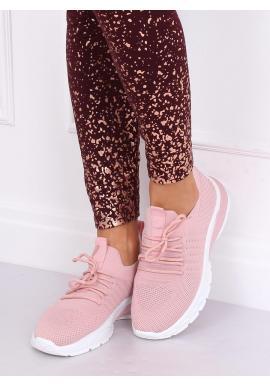 Dámske športové tenisky v ružovej farbe