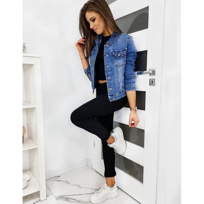 Čierne elastické nohavice pre dámy