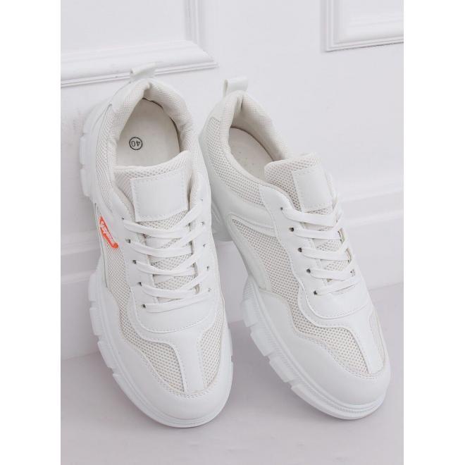 Biele športové tenisky pre dámy