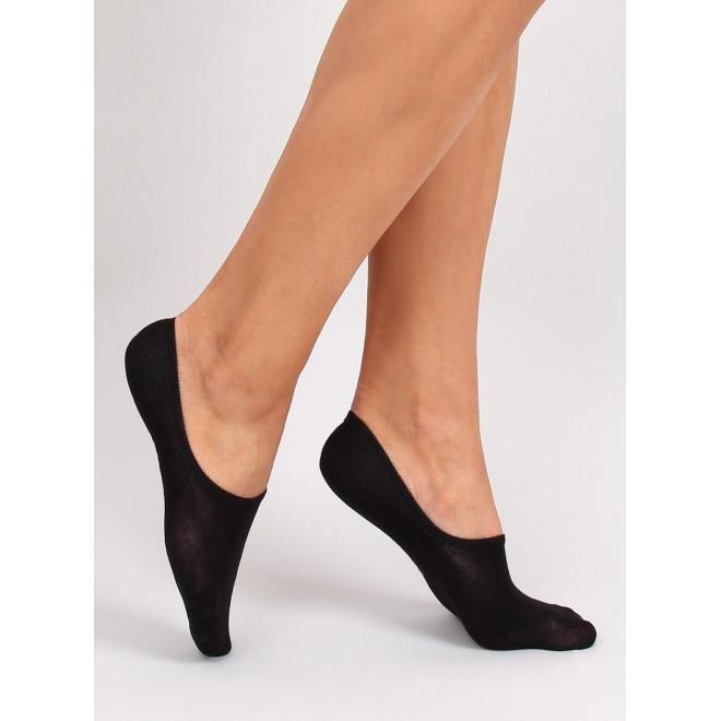 Hladké dámske ťapky čiernej farby v dvojbalení
