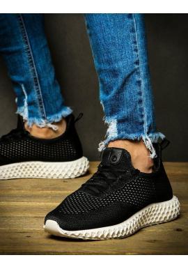 Pánske športové Sneakersy v čierno-sivej farbe