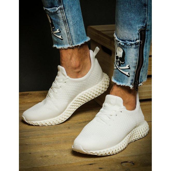Pánske športové Sneakersy v bielej farbe
