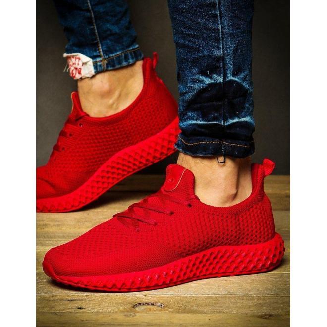 Červené športové Sneakersy pre pánov