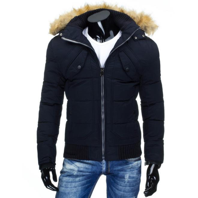 Bunda na zimu v svetlohnedej farbe s odopínateľnou kapucňou
