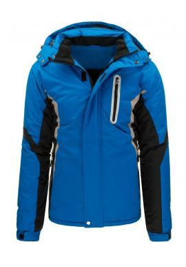 Zimná bunda Pilotka pre pánov zelenej farby