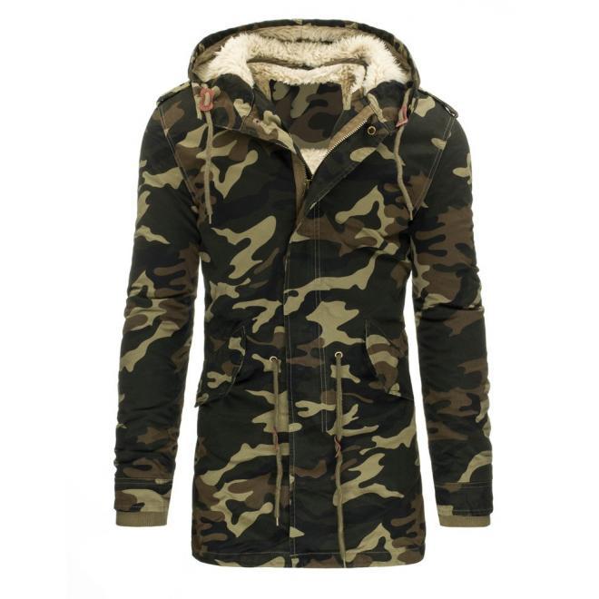 Zimná lyžiarska bunda čiernej farby pre pánov