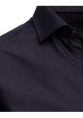 Tmavosivá košeľa s dlhým rukávom pre pánov