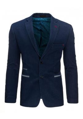 Elegantné pánske sako v tmavomodrej farbe