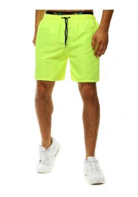 Pánske šortky na kúpanie v zelenej farbe