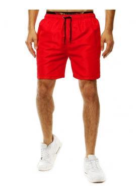 Šortky na kúpanie pre pánov červenej farby