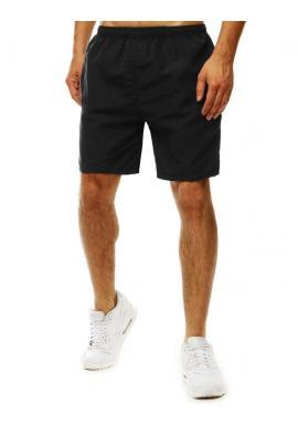 Pánske meniace sa šortky na kúpanie v čiernej farbe