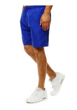 Modré meniace sa šortky na kúpanie pre pánov