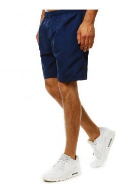 Tmavomodré meniace sa šortky na kúpanie pre pánov