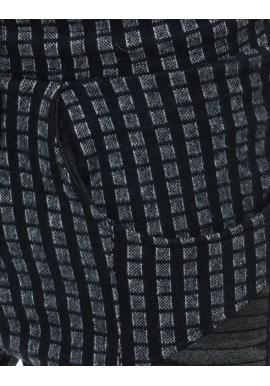 Modro-sivé športové Joggery so vzorom pre pánov